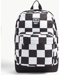 Obey - Checkerboard Backpack - Lyst