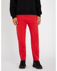 KENZO - Relaxed-fit Jersey Jogging Bottoms - Lyst
