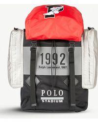 Polo Ralph Lauren - Winter Stadium 1992 High Tech Woven Shell Backpack -  Lyst 3f671f3d4da14