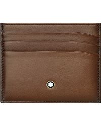 Montblanc - Meisterstück Leather Six Credit Card Pocket Holder - Lyst