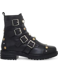 4c64dafcb90 UGG Cybele Studded Detail Ankle Boots in Black - Lyst