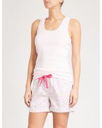PETER ALEXANDER | Fairy Bread Cotton Pyjama Shorts | Lyst