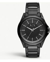 Armani Exchange - Ax2620 Carbon-coated Stainless Steel Watch - Lyst