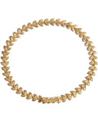 Annoushka | Vine 18ct Gold And Diamond Bracelet | Lyst