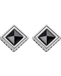 Thomas Sabo | Africa Black Sterling Silver And Onyx Earrings | Lyst