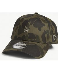KTZ - Los Angeles Dodgers 9forty Camouflage-print Baseball Cap - Lyst
