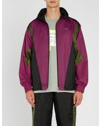 Burberry - Hepwood Colourblocked Shell Jacket - Lyst