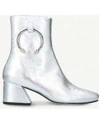 Silver Nizip II Boots DORATEYMUR xINXwCAeK