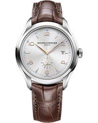 Baume & Mercier - M0a10054 Clifton Watch - Lyst