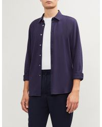 PS by Paul Smith - Slim-fit Mercerised Cotton Shirt - Lyst