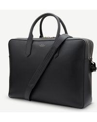 Smythson - Panama Large Leather Briefcase - Lyst