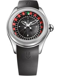 Corum - L082/02958 Bubble Automatic Satinless Steel Watch - Lyst
