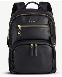 Tumi - Hagen Leather Backpack - Lyst