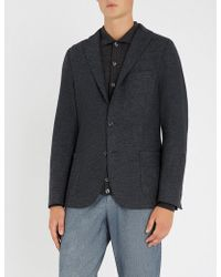 Eleventy - Regular-fit Wool-flannel Jacket - Lyst
