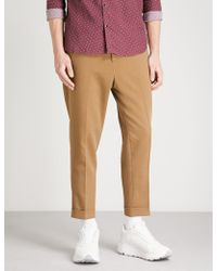 The Kooples - Pressed Crease Drawstring Trousers - Lyst