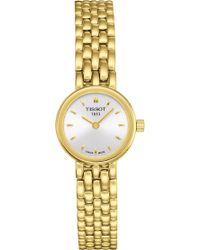 Tissot - T058.009.33.031.00 Lovely Yellow Gold Watch - Lyst