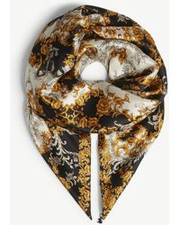 The Kooples - Baroque Print Silk Scarf - Lyst