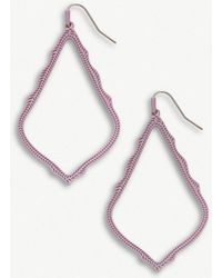 Kendra Scott - Sophee Matte Lilac-plated Earrings - Lyst