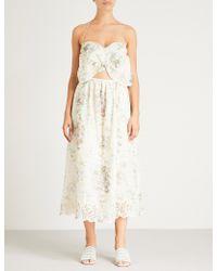 Zimmermann - Iris Picnic Linen Dress - Lyst