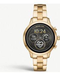 40f1ca77a869 Lyst - Michael Kors Mk6243 Layton Stainless Steel Watch in Metallic
