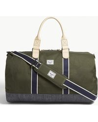 Herschel Supply Co. Novel Cotton Canvas Duffle Bag Black Men s ... 0e71ed1217f93