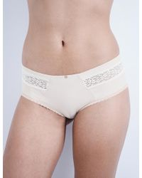 Passionata - Dream Jersey And Lace Shorty Briefs - Lyst