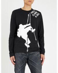 Junya Watanabe - Climbing Graphic Print T-shirt - Lyst