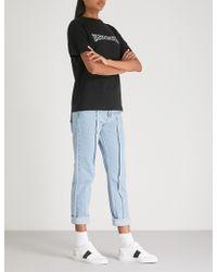 Wasted Paris - Logo-print Cotton-jersey T-shirt - Lyst