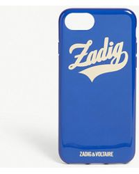 Zadig & Voltaire - Mirror Logo Iphone 6 And 7 Case - Lyst
