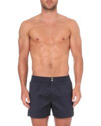 La Perla - Geometric Textured Shorts - Lyst