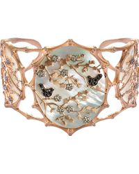 Annoushka - Dream Catcher 18ct Rose Gold And Diamond Cuff - Lyst