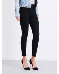 GOOD AMERICAN - Good Legs Crop Skinny High-rise Jeans - Lyst