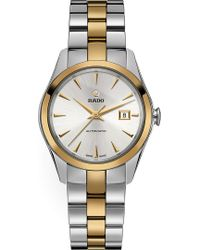 Rado - R32088112 Hyperchrome Stainless Steel And Yellow Gold Watch - Lyst