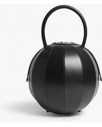 Nita Suri - Pilo Round Leather Handbag - Lyst