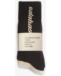 Yeezy - Calabasas Crew Socks 3-pack - Lyst
