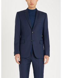 Tiger Of Sweden - Birdseye Slim-fit Wool Blazer - Lyst