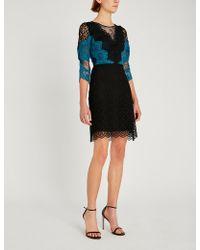 Sandro - Belladone Lace Dress - Lyst