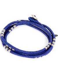 M. Cohen | Four Layer Knotted Wrap Bead Bracelet | Lyst