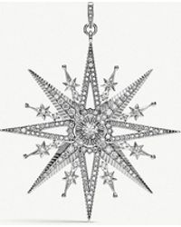 Thomas Sabo - Kingdom Of Dreams Royalty Star Silver Pendant - Lyst