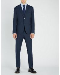 HUGO - Slim-fit Wool Suit - Lyst