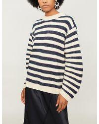 Ba&sh - Sunday Striped Wool Jumper - Lyst