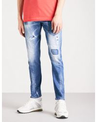 DSquared² - Sexy Twist Slim-fit Skinny Jeans - Lyst