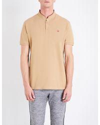 The Kooples Sport | Brand-embroidered Cotton Polo Shirt | Lyst