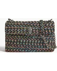 434c1219da49 Lyst - Ferragamo Quilted Tweed Gelly Shoulder Bag in Gray