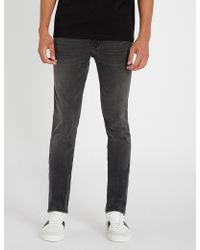 HUGO - Skinny-fit Stretch-denim Jeans - Lyst