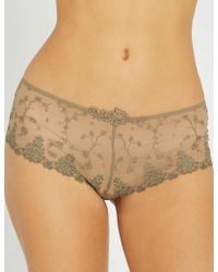Passionata - White Nights Mesh Shorty Briefs - Lyst