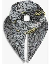 Fornasetti   Face-print Modal And Cashmere Scarf   Lyst