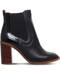 KG by Kurt Geiger - Safari Leather Ankle Boots - Lyst