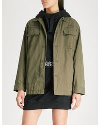 Chocoolate - Multi-pocket Cotton-blend Jacket - Lyst