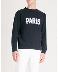 Sandro - Paris Cotton-jersey Jumper - Lyst